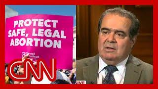 Justice Antonin Scalia talks about Roe v. Wade.