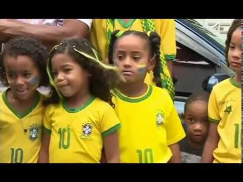 Neymar's fan in brazil 2014