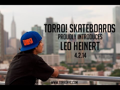 Torro! Skateboards Proudly Introduces Leo Heinert 2014