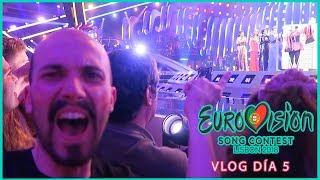 Netta (Israel) gana Grand Final EUROVISION 2018 y moñea a Sobral, susto SuRie y España... VLOG #5