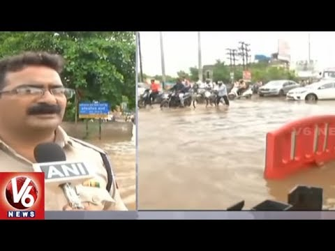 Raipur City People Facing Problems With Logging Water | Chhattisgarh | V6 News
