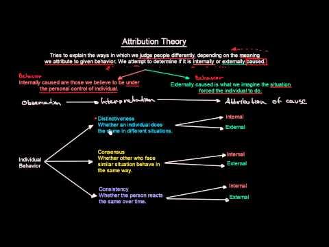 5.2 Attribution Theory