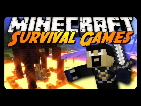 Survival Games - Total Domination! w/ AntVenom & xRpMx13!