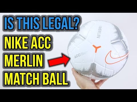 THE WORLD'S FIRST FOOTBALL WITH NIKE ACC! - DOES IT ACTUALLY WORK?