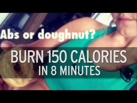 How to Burn 150 Calories in 8 Minutes