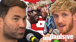 EDDIE HEARN SPEAKS OUT AFTER KSI VS LOGAN PRESS CONFERENCE - IMPAULSIVE EP. 124