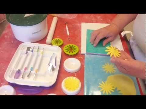 How to use the new Wilton modeling tool set for Gum Paste and Fondant flower m