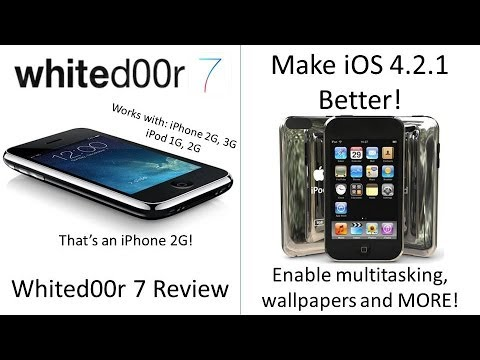 *Greenpois0n Link is down* Whited00r 7 Review/Make iOS 4.2.1 BETTER!