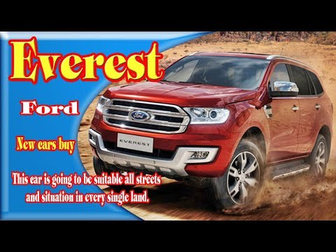 2018 Ford Everest | 2018 Ford Everest Usa | 2018 Ford Everest Titanium | 2018 Ford Everest Facelift
