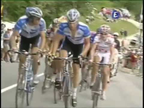 Lance Armstrong Epic Stage 10 TDF 2005