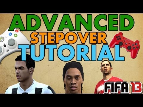 FIFA 13   Advanced Stepover Tutorial + Using Pace Control    FUT & H2H