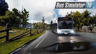 1# | Mis Primeras Impresiones | Transportes La Rubia | Bus Simulator 18 [Español]