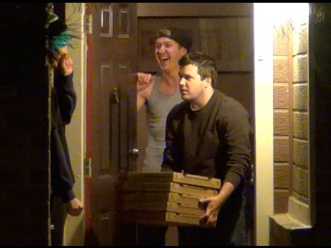 Pizza Delivery Prank