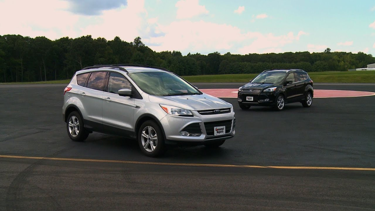 2013 ford escape review consumer reports youtube. Black Bedroom Furniture Sets. Home Design Ideas