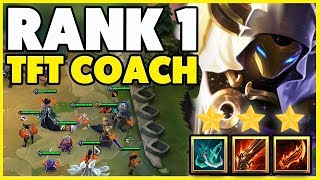 I GOT COACHED BY THE #1 TFT PLAYER WORLD (FOGGEDFTW2) - Teamfight Tactics