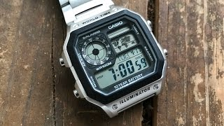 The Casio AE1200-WH 'Casio Royale' Wristwatch: The Full Nick Shabazz Review