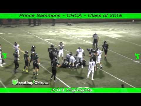 OH 2016 Prince Sammons  Cincinnati Hills Christian Academy  So Yr  TeDe23