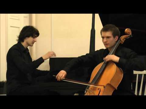 Эдвард Григ - Соната для виолончели и фортепиано ля минор