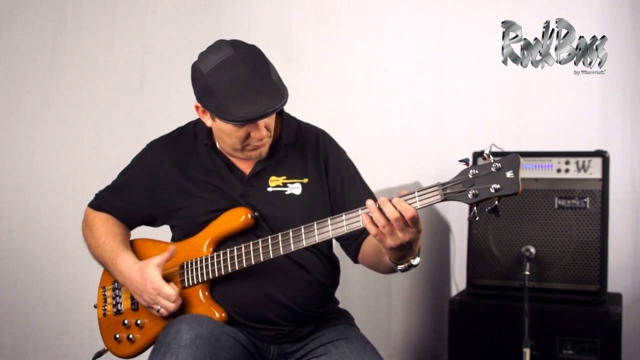 The Rockbass Streamer Nt1 4 String With Andy Irvine