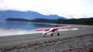 "Traildog landing on ""Blacksand"""