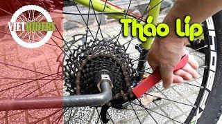 [Vietriders.vn] - Cách tháo líp xe đạp - how to remove cassette