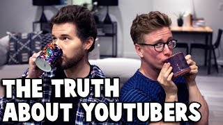 Download Lagu SPILLING TEA ABOUT YOUTUBERS w/ Tyler Oakley Gratis STAFABAND