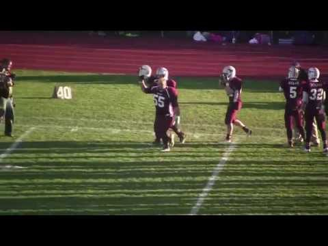 A video send-off for the Foxcroft Academy football team