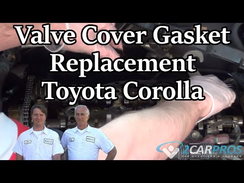 Valve Cover Gasket Replacement Toyota Corolla 2000-2006