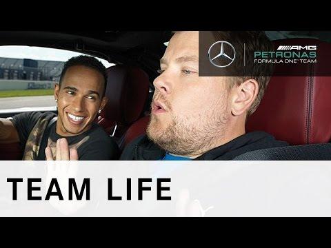 Lewis Hamilton vs. James Corden - #ForeverFaster