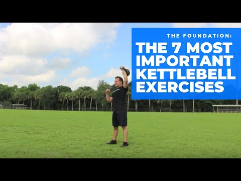 The 7 Most Important Kettlebell Exercises. Image 1