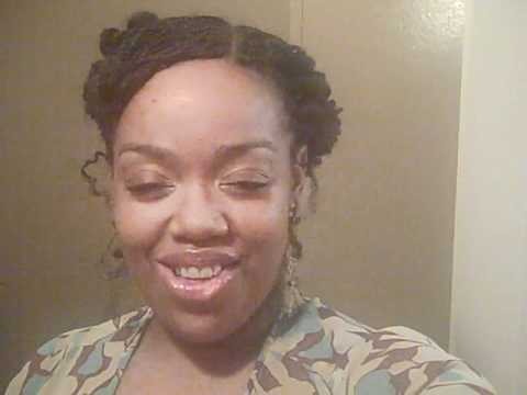 Braiding Natural Hair With Extensions Micro Braids on Natural Hair