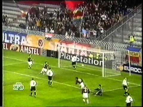 ЛЧ 2000/2001. Спарта Прага - Шахтёр Донецк 3-2 (27.09.2000)