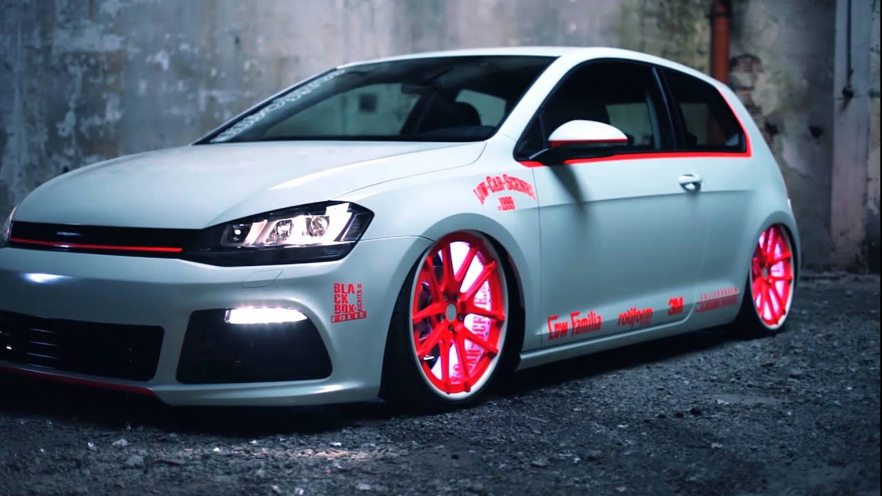 vw golf 7 2013 light tron tuning showcar youtube. Black Bedroom Furniture Sets. Home Design Ideas