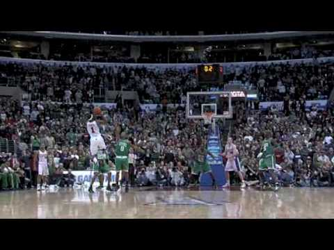 Baron Davis Game winner vs Boston Celtics (December 28, 2009) (HQ)
