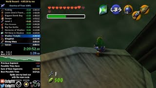Ocarina of Time 100% Speedrun in 4:03:24