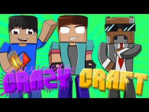 """HOW TO FIND A GOD TREE!"" Minecraft CRAZY CRAFT (MODDED SURVIVAL!) #12 w/NoahCraftFTW & Friends!"