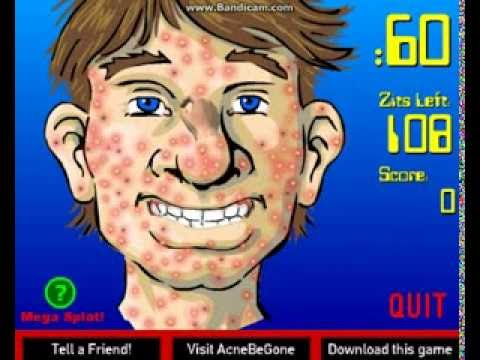 Acne Be GONE! gameplay