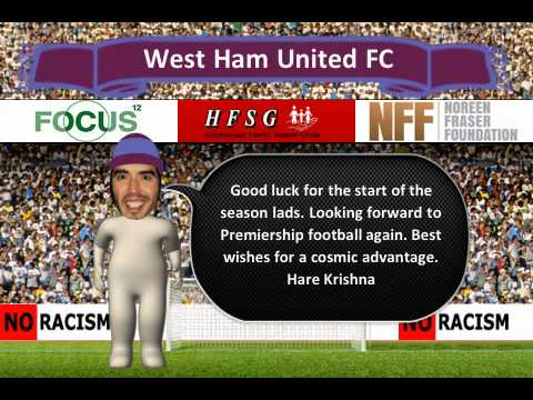 Russell Brand sending out good karma West Ham's way