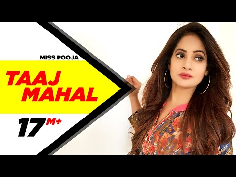 Taaj Mahal Miss Pooja Brand New Punjabi Song | Punjabi Songs | Speed Records video