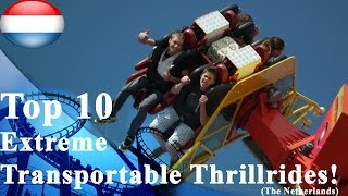 Top 10 Extreme Transportable Thrillrides Netherlands