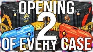 OPENING 2 OF EVERY CS:GO CASE EVER (64 CASE UNBOX)