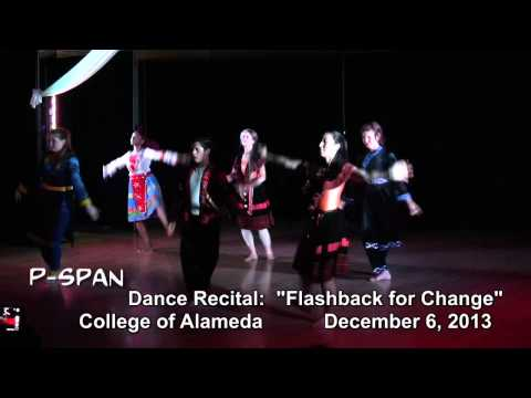 "P-SPAN#344 -- ""College of Alameda Dance Recital"""