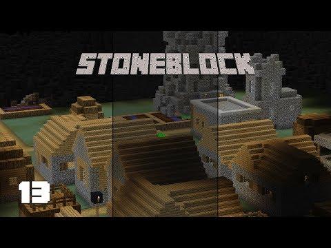 StoneBlock EP15 Mystical Agriculture Questline Destruction