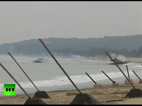 China military drill video: Land, naval, air forces flex muscles