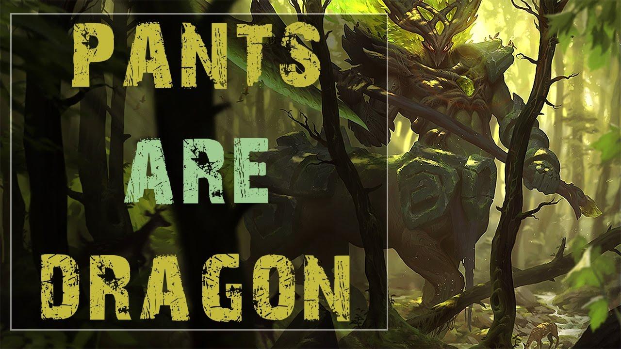 Pants are dragon