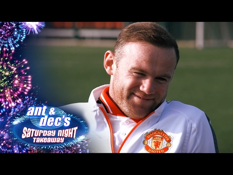 Wayne Rooney Meets Little Ant & Dec at Old Trafford - Saturday Night Takeaway