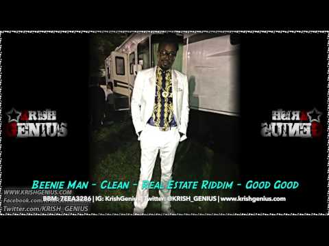 Beenie Man – Clean [real Estate Riddim] September 2014   Reggae, Dancehall, Bashment