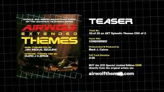 AIRWOLF Extended Themes CD2 Track 3 Teaser -