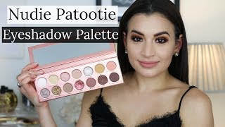 NUDIE PATOOTIE EYESHADOW PALETTE | Review, Swatches, Tutorial