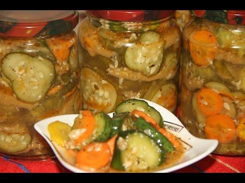 Огурцы по-корейски ( Остренькие ) на Зиму Очень вкусные